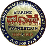 Token - United States Marine Corps (Toys For Tots Foundation) – obverse