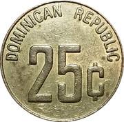 25 Cents - Casino De Bavaro – reverse