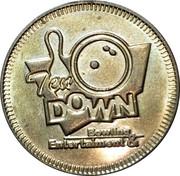 Token - Ten down – obverse