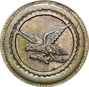 20 Centimes - Consommation (Eagle) – obverse