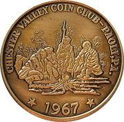 Token - Chester Valley Coin Club – obverse