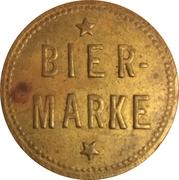 Beer Token - Bier-Marke (Mosler-Gaststätte) – reverse