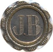 75 Centimes - JB – obverse