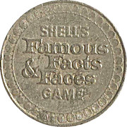 Token - Shell's Famous Facts and Faces Game (Booker T. Washington) – reverse
