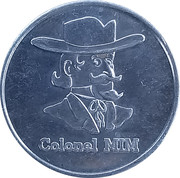 Token - Colonel MIM – obverse