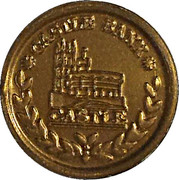 1 New Penny - Castle Bank (Play money) – obverse