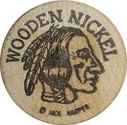 Wooden Nickel - Sparks, Nevada (50th Anniversary) – reverse