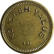 Token - No Cash Value (Bowtie) – reverse
