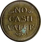 Token - No Cash Value (Circles) – reverse