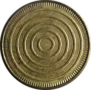 Token - No Cash Value (Circles) – obverse