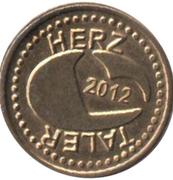 Herz Taler - Westend Apotheke (Schweinfurt) – reverse