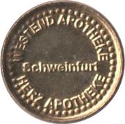 Herz Taler - Westend Apotheke (Schweinfurt) – obverse