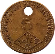 5 Cents - The S & T E S Co. – obverse