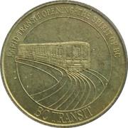 1 Dollar - BC Transit (Skytrain) – obverse