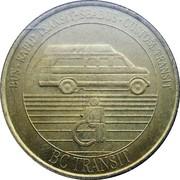 1 Dollar - BC Transit (HandiBus) – obverse