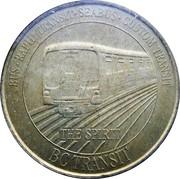 1 Dollar - BC Transit (Skytrain The Spirit) – obverse