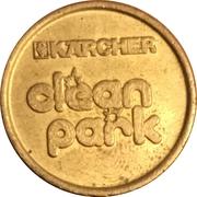 Car Wash Token - Kärcher Clean Park (Mutterstadt) – reverse