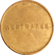 Token - Ing F K Markovits (Vienna) -  reverse