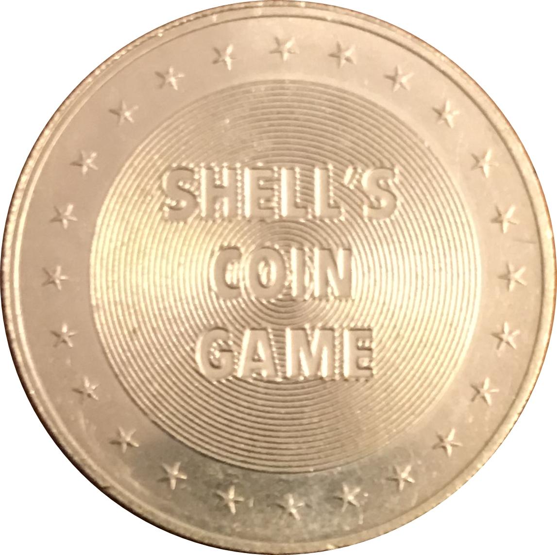 Maine Georgia State of Union Aluminum Shell Oil Coin