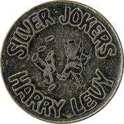 Token - Harry Levy (Silver Jokers) – obverse