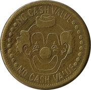Token - No Cash Value (Clown; 23 mm) – obverse