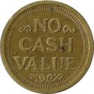 Token - No Cash Value (Clown; 23 mm) – reverse