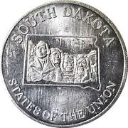 Token - Shell's States of the Union Coin Game, Version 2 (Missouri / South Dakota) – reverse