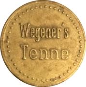 Token - Wegner's Tenne (Löhne) – reverse