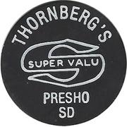 1 Cent - Food Stamp Credit (Thornberg's Super valu) – obverse