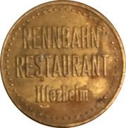 Token - Rennbahn Restaurant (Iffezheim) – obverse