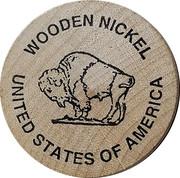 Wooden Nickel - Juniper Creek Gallery – reverse