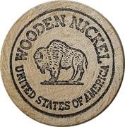 Wooden Nickel - Coors – reverse