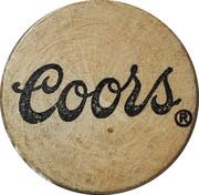 Wooden Nickel - Coors – obverse