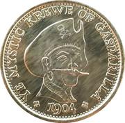 Mardi Gras Token - Ye Mystic Krewe of Gasparilla (Gasparilla Pirate Festival) – reverse