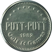 Game Token - Putt Putt Golf & Games – obverse