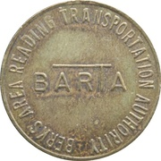 1 Fare - BARTA (Reading, Pennsylvania) – obverse