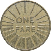 1 Fare - Fresno Transit (Fresno, California) – reverse
