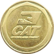 Token - Citizens Area Transit (Las Vegas, NV) -  obverse