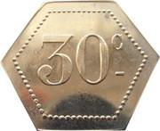 30 Centimes - La goutte de lait (Clermont-Ferrand) – reverse