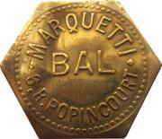 Token - Bon pour une danse - Bal Marquetti (Paris) – obverse