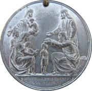 Robert Raikes Centenary of Sunday Schools 1880 – reverse