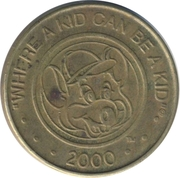 Game Token - Chuck E Cheese (without letter