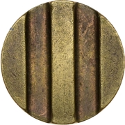 Token - Ministry of Trade (3; Type 1, Figures rounded shape) – reverse