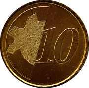 10 Cents (Training Token) – reverse