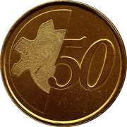 50 Cents (Training Token) – reverse