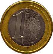 1 Euro (Training Token) – reverse
