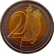 2 Euro (Training Token) – reverse