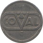 Token - Coval – obverse