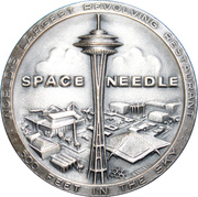 Medal - Seattle World's Fair 1962 (Space Needle) – obverse