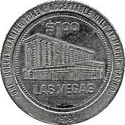 1 Dollar Gaming Token - Marina Casino (Las Vegas) – reverse